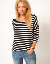 Stripe Oversized T-Shirt