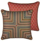 Rose Tree Durelme 20-Inch Square Throw Pillow in Red