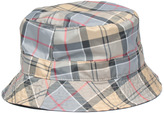 Barbour Gray & Tartan Reversible Bucket Hat
