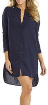 Sunseeker Linen Overshirt Dress