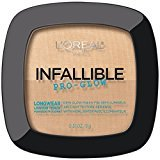 L'Oreal Infallible Pro Glow Pressed Powder, Creamy Natural, 0.31 oz.