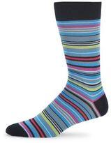 Saks Fifth Avenue Multicolored Stripe Socks