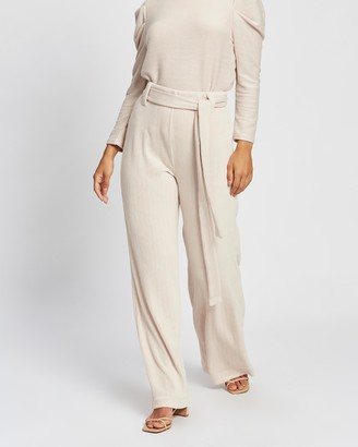 Mng Palazzo Trousers