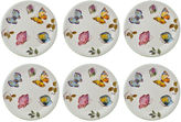 JCPenney Abbiamo Tutto Butterfly Set of 6 Salad Plates