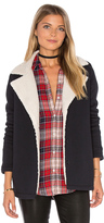 Velvet by Graham & Spencer Arie Jacket with Faux Fur Lining