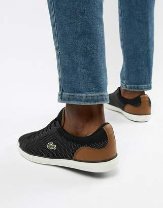Lacoste Lerond BL 1 trainers in black