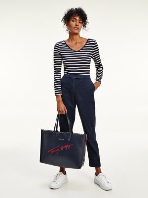 Tommy Hilfiger Elasticated Waist Relaxed Tapered Fit Trousers