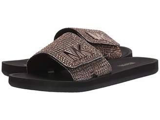 MICHAEL Michael Kors MK Slide (Bronze) Women's Sandals