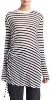 Alexander Wang Striped Long-Sleeve Tee