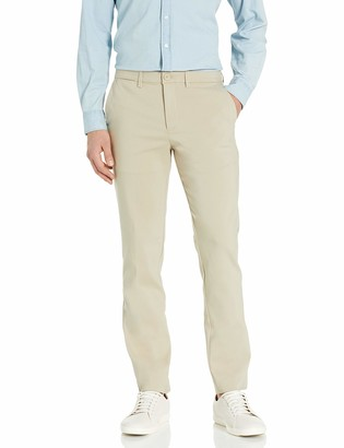 Calvin Klein Men's Move 365 Slim Fit Tech Modern Stretch Chino Wrinkle Resistant Pants