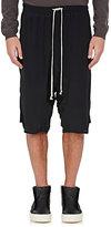 Rick Owens Men's Crêpe De Chine Shorts