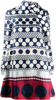 Valentino Polka Dot Shift Dress