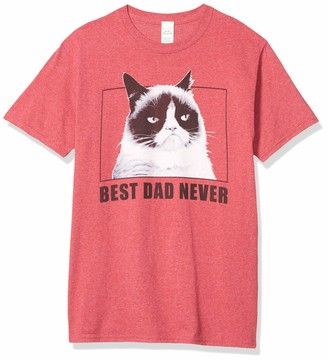 Grumpy Cat Men's Best Dad Never T-Shirt