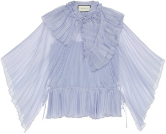 Gucci Silk organdy shirt