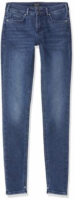 Scotch & Soda Maison Women's La Bohemienne Cropped Straight Jeans