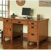 Home styles Arts & Crafts Double Pedestal Desk