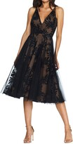 Dress the Population Courtney Sequin Lace Cocktail Dress