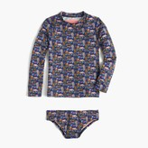 J.Crew Girls' rash guard set in Liberty® zoo print
