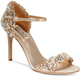 Badgley Mischka Tampa Ankle-Strap Evening Sandals