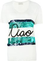 Lanvin ciao print T-shirt