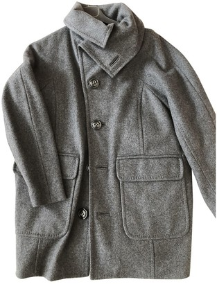 DSQUARED2 Anthracite Wool Coat for Women