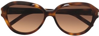 Saint Laurent Eyewear SL 400 round-frame sunglasses