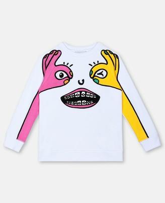 Stella McCartney peekaboo cotton sweatshirt