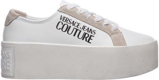 Versace Womens Shoes Platform Logo Sneakers