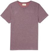Oliver Spencer Conduit Slim-Fit Patterned Cotton-Jersey T-Shirt