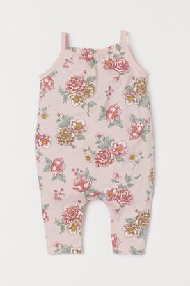 H&M Patterned Jumpsuit - Pink