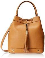 Milly Astor Drawstring Bucket Handbag