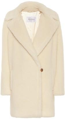 Max Mara Fiocco faux fur coat