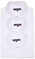 George Tailor & Cutter 3 Pack Long Sleeve Shirts
