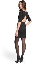 Lela Rose Ultra-Chic Backless Dress