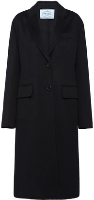 Prada Garbadine single-breasted coat