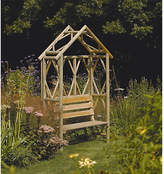 Rowlinson Garden Rustic Bench