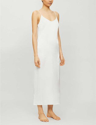 La Perla Long silk slip nightgown