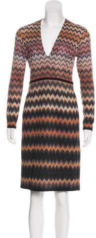 Missoni Knit Patterned Dress