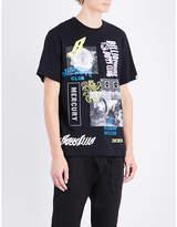 Billionaire Boys Club Space Beach Cotton-jersey T-shirt