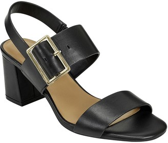 Aerosoles Tailored Leather Sandals - Essex