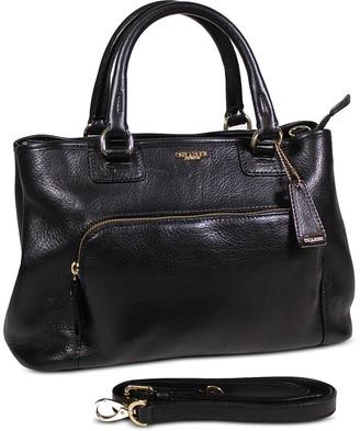 Chiarugi Genuine Leather E/W Tote Bag