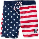 Osh Kosh OshKosh Flag Print Swim Trunks