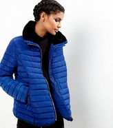New Look Blue Padded Puffer Jacket