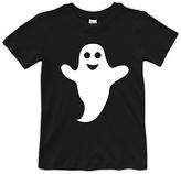 Urban Smalls Black & White Happy Ghost Tee - Toddler & Boys