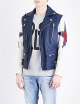 Diesel L-Jasper leather jacket