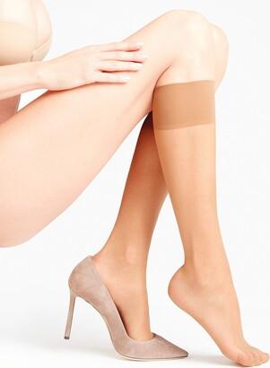 Falke Women Seidenglatt 15 DEN Knee-Highs - Sheer Light Sheen