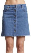 Mavi Carly Button Down Denim Skirt