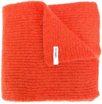 Indress knitted mohair scarf