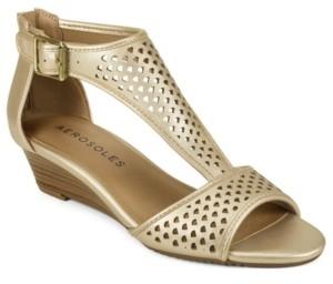 Aerosoles Sapphire Low Wedge Sandal Women's Shoes