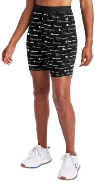 Champion Plus Size Authentic Printed Bike Shorts
